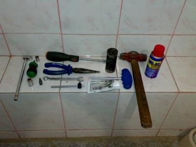 Инструменты для разборки стиральной машины