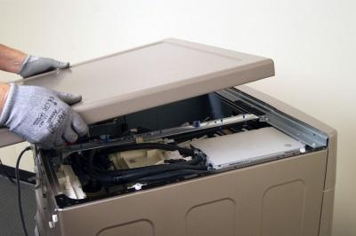 Требования - если нужно снять верхнюю крышку стиральной машины