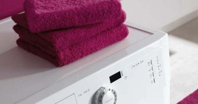 Полотенца на стиральной машине