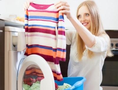 Стиральный порошок против пятен для стиральной машины - энзимы в составе