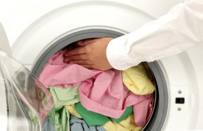 Слишком много белья в стиральной машинке