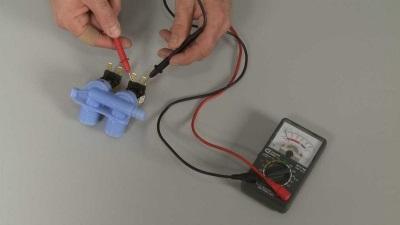 Проверка электромагнитного клапана стиральной машины на работоспособность