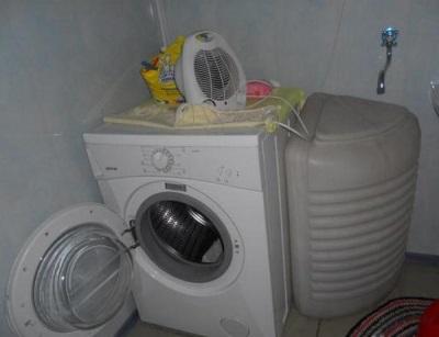 Стиральная машинка с баком для воды без подключения к водопроводу