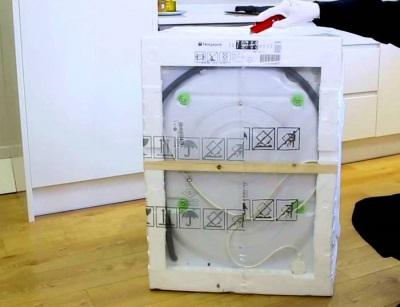Предназначение танспортировочных болтов на стиральной машине