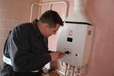 Утечка газа из газовой колонки