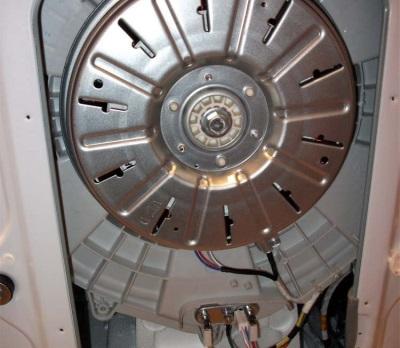 Двигатель бесшумной стиральной машины без ремня