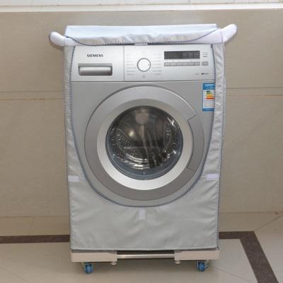 стиральна машина  с откинутой шторкой