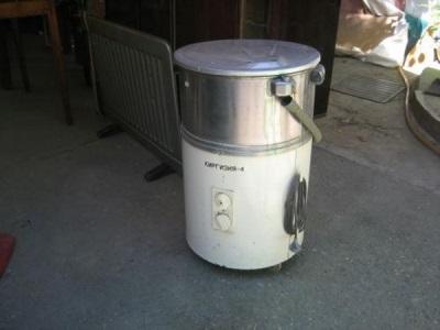 Бетономешалка из старой стиральной машины