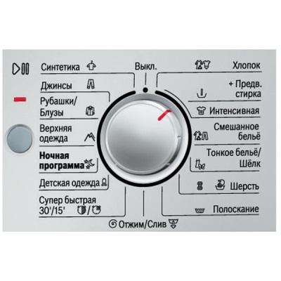 Значок Деликатной стирки на табло стиральной машины