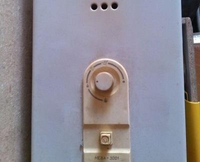 Бездымоходная газовая колонка Нева 3001