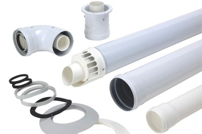 Коаксиальная труба для дымохода газовой колонки
