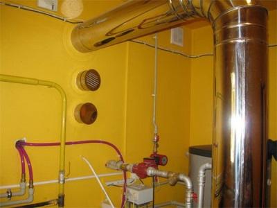 Необходимый диаметр дымохода для газовой колонки