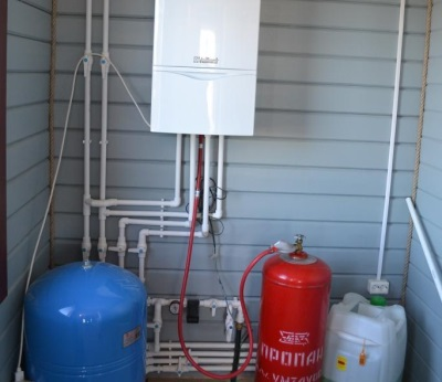 Принцип работы газовой колонки на сжиженном газе