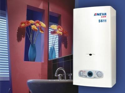 газовый водонагреватель Нева
