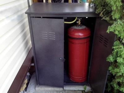 Правильное подключениегазовой колонки к баллону с сжиженным газом