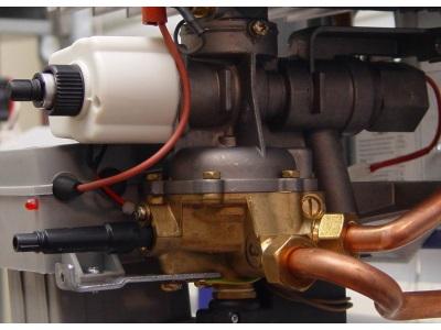 Клапан модуляции мощности в газовой колонке