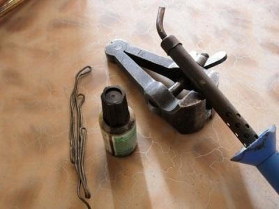 Материалы и инструменты для пайки газовой колонки