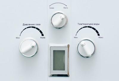 Автоматическая регуляция пламени у газовой колонки