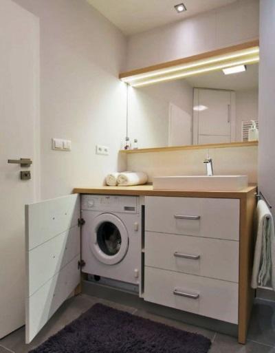 Встраиваемая стиральная машина автомат
