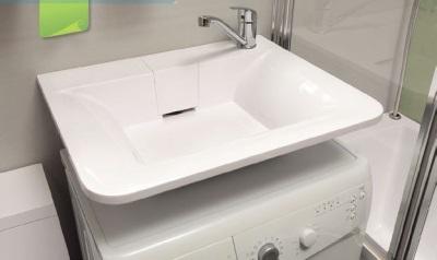 Компактная стиральная машина под раковиной