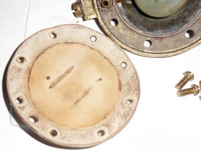 Старая мембрана от газовой колонки