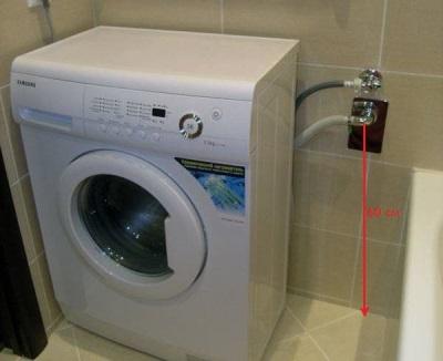 Альтернатива обратному клапану - установка слива стиральной машины по нормативу