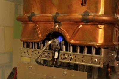 Газовая колонка с запальным фитилем