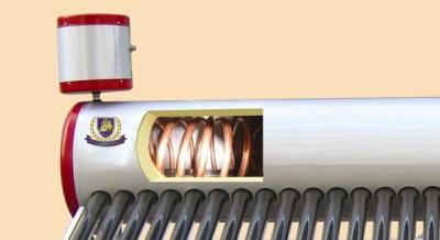 Бойлер косвенного нагрева, работающий за счет энергии от солнечных батарей