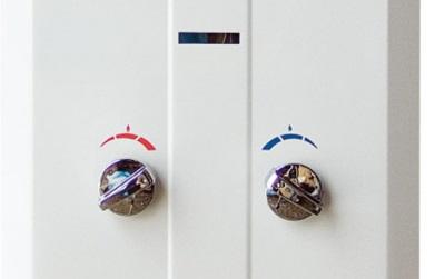 Панель регулировки газовой колонки