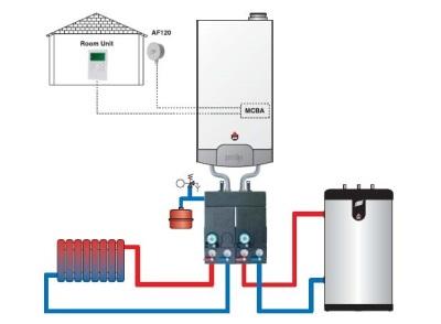 Схема подключения бойлера к газовому котлу