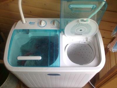 Стиральная машина с функцией отжима для дачи