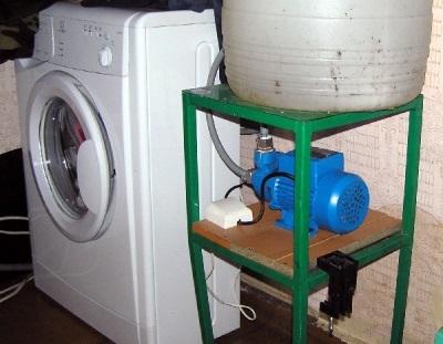 Стиральная машина-автомат для дачи