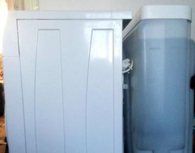 Стиральная машина с резервуаром под воду для дачи
