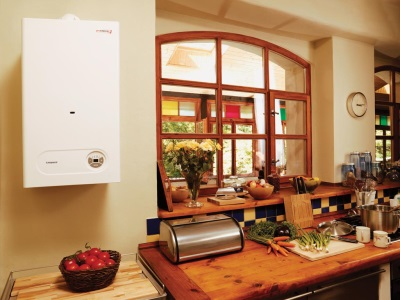 бездымоходная колонка на кухне