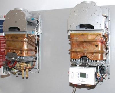 Элементы газовых колонок - устройство