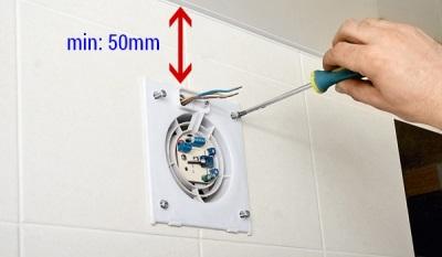 Особенности вентиляторов для ванной с датчиком влажности