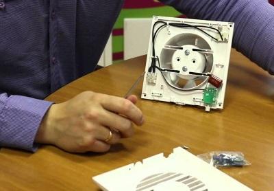Принцип работы вентилятора с датчиком влажности