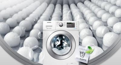 Функция Eco Bubble для стиральных машин