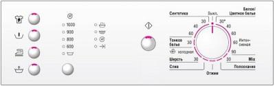Панель стиральной машины Bosch