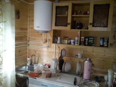 Накопительный водонагреватель в загородном доме