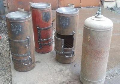 Самодельные дровяные водонагреватели