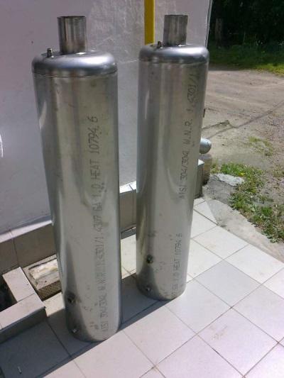 Баки для дровяных водонагревателей