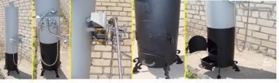 Дровяные водонагреватели для загородного дома