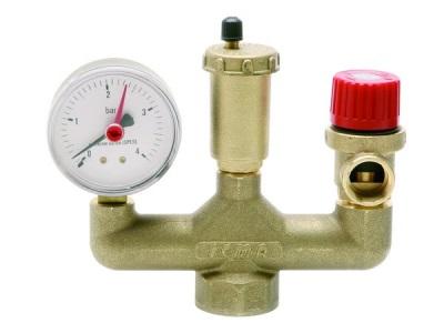 Группа безопасности газового водонагревателя