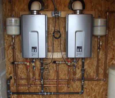 Виды газовых бойлеров