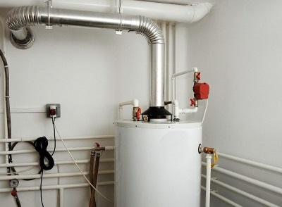 Газовый накопительный водонагреватель с открытой камерой сгорания