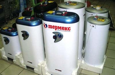 Выбор накопительных водонагревателей в магазине