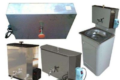 Разные модели наливных водонагревателей