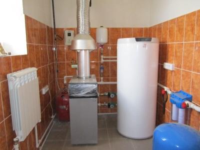 Электрический напольный водонагреватель