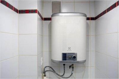 Подключенный водонагреватель